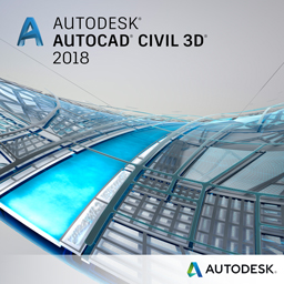 AutoCAD Civil 3D 2018 badge