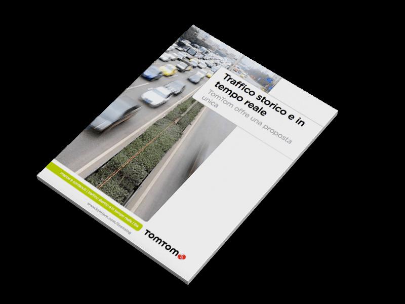 Brochure TomTom su dati di traffico storico e in tempo reale