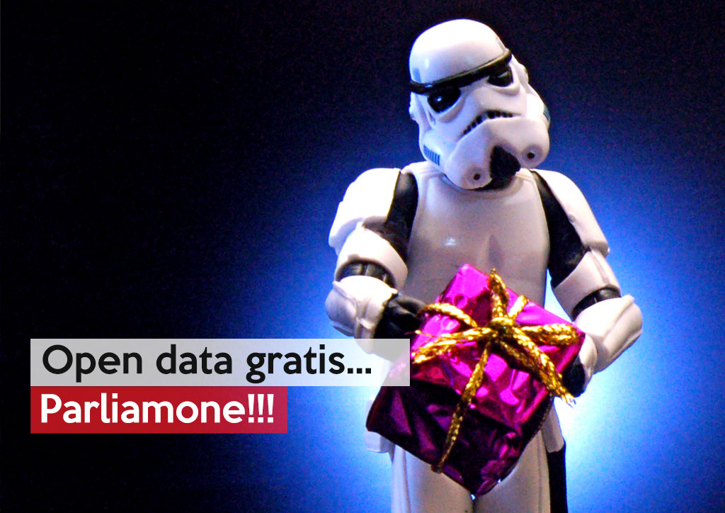 Open data gratis…parliamone!