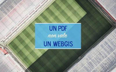 3 motivi per cui un pdf online non vale un WebGIS