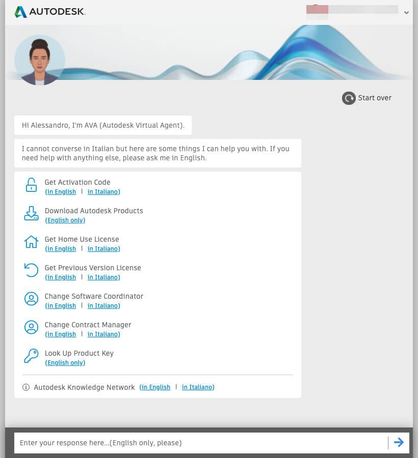 AVA - Autodesk Virtual Agent