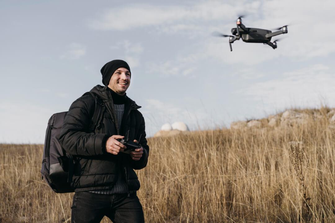 Un pilota di droni